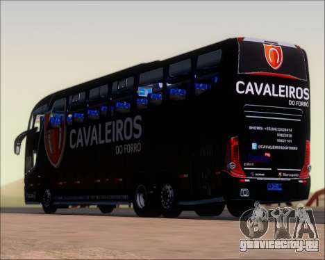 Marcopolo Paradiso G7 1600LD Scania K420 для GTA San Andreas вид снизу