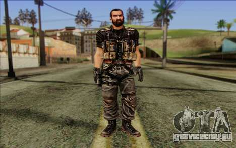 Солдат from Rogue Warrior 1 для GTA San Andreas