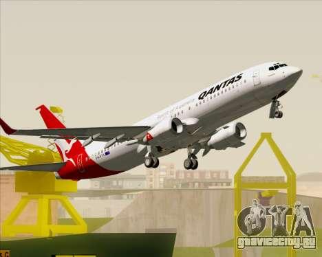 Boeing 737-838 Qantas для GTA San Andreas