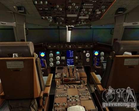 Boeing 767-300ER Australian Airlines для GTA San Andreas салон