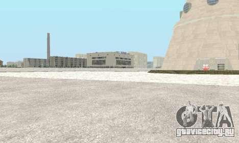 Снег для GTA Криминальная Россия beta 2 для GTA San Andreas четвёртый скриншот