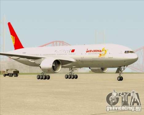 Boeing 777-200ER Air China для GTA San Andreas вид слева