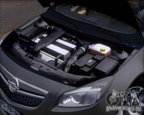 Opel Insignia OPC для GTA San Andreas вид сверху