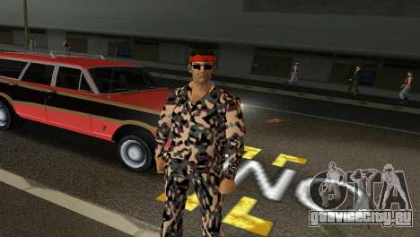 Camo Skin 08 для GTA Vice City третий скриншот