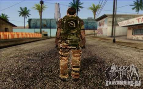Солдат МЕК (Battlefield 2) Skin 2 для GTA San Andreas второй скриншот