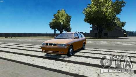 Daewoo Nubira I Wagon CDX US 1999 для GTA 4 вид слева