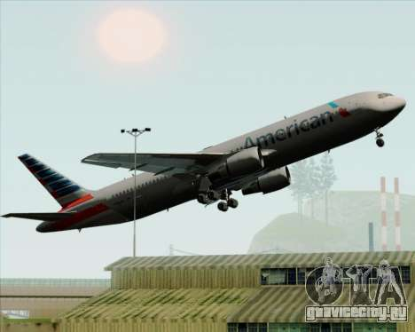 Boeing 767-323ER American Airlines для GTA San Andreas колёса