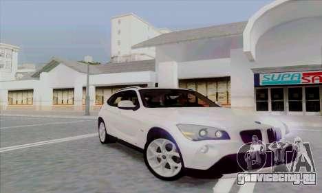 Bmw X1 для GTA San Andreas