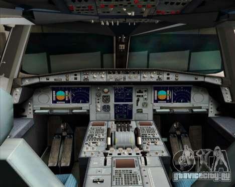 Airbus A380-841 Qantas для GTA San Andreas вид сверху