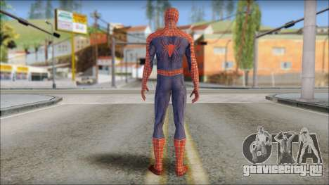 Red Trilogy Spider Man для GTA San Andreas второй скриншот