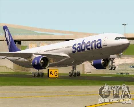 Airbus A330-300 Sabena для GTA San Andreas вид слева