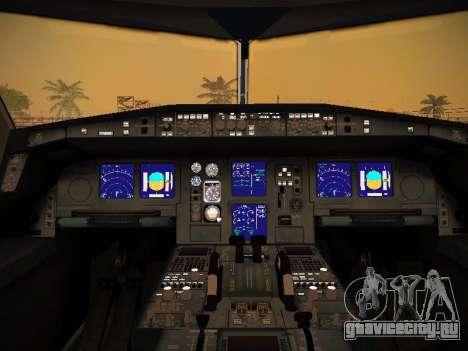 Airbus A340-600 South African Airways для GTA San Andreas колёса