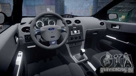 Ford Focus ST 2005 Rieger Edition для GTA 4 вид изнутри