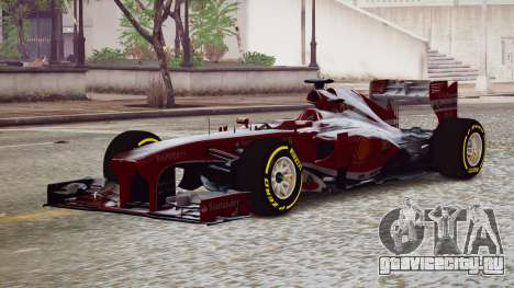 Ferrari F138 v2 для GTA 4
