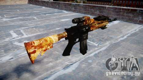 Автоматический карабин Colt M4A1 elite для GTA 4 второй скриншот