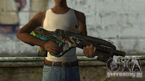 AUG A3 from PointBlank v3 для GTA San Andreas третий скриншот