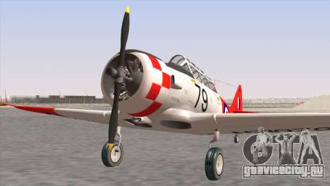 North American T-6 TEXAN NZ1079 для GTA San Andreas