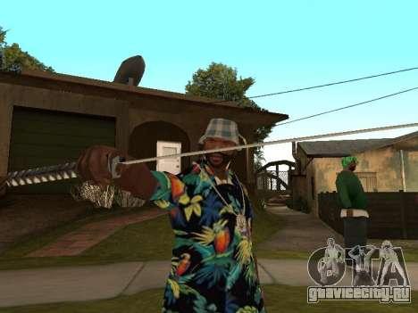 Поза гангстера для GTA San Andreas второй скриншот