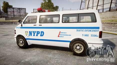 GTA V Bravado Youga NYPD для GTA 4 вид слева