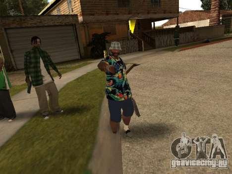 Поза гангстера для GTA San Andreas