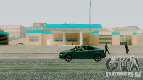 Новые текстуры гаража в Сан-Фиерро для GTA San Andreas третий скриншот