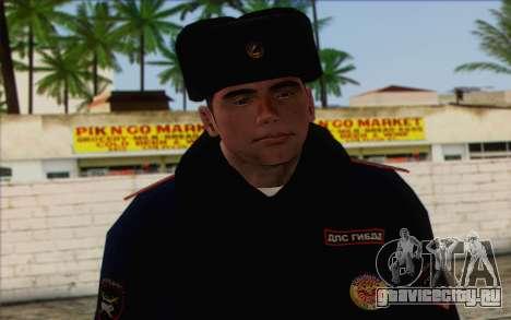 ДПС Скин 1 для GTA San Andreas третий скриншот