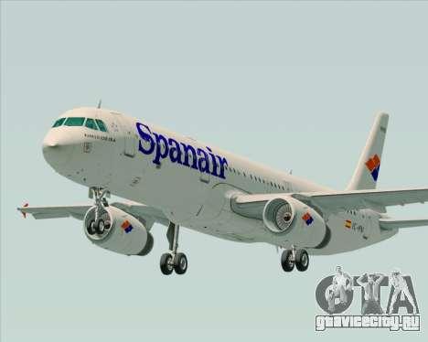 Airbus A321-231 Spanair для GTA San Andreas