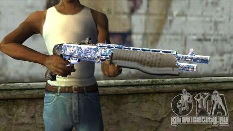 Graffiti Shotgun v2 для GTA San Andreas третий скриншот