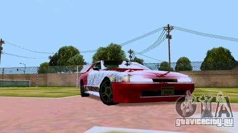 Elegy OnDrift для GTA San Andreas вид слева