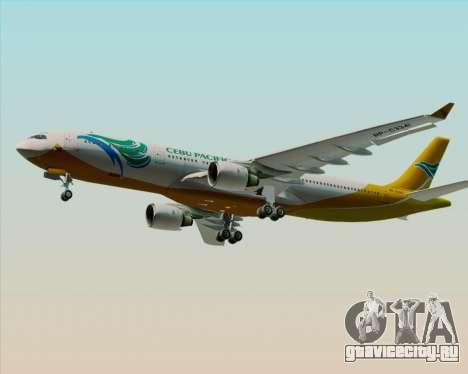 Airbus A330-300 Cebu Pacific Air для GTA San Andreas