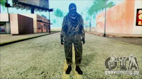 Солдат ВДВ (CoD: MW2) v6 для GTA San Andreas