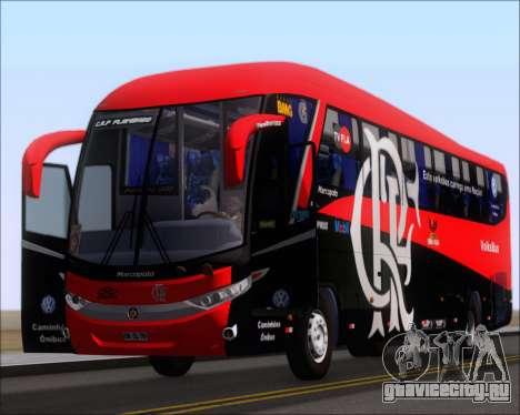 Marcopolo Paradiso 1200 G7 4X2 C.R.F Flamengo для GTA San Andreas вид изнутри