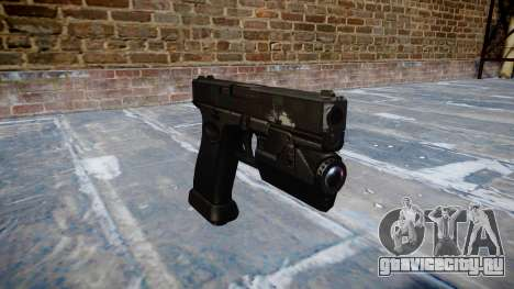Пистолет Glock 20 ghosts для GTA 4