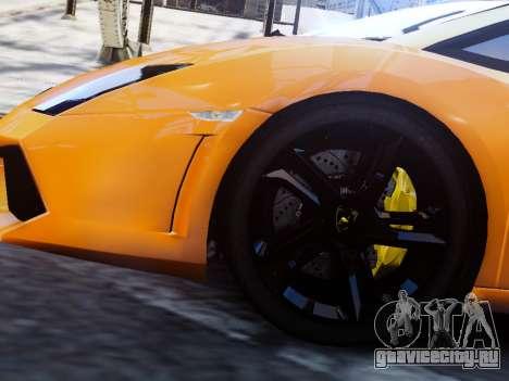 Lamborghini Gallardo LP560-4 для GTA 4 вид сзади слева