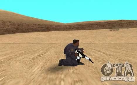Chrome Weapon Pack by SampHack для GTA San Andreas третий скриншот