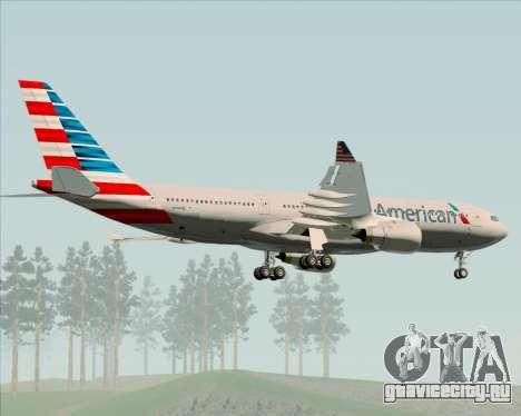 Airbus A330-200 American Airlines для GTA San Andreas вид сбоку