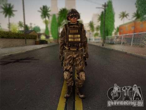 Боец СВР (Tom Clancy Splinter Cell) v1 для GTA San Andreas