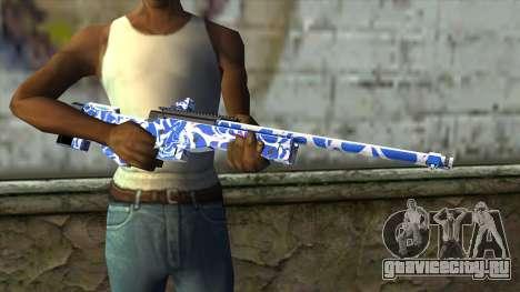 Graffiti Rifle для GTA San Andreas третий скриншот