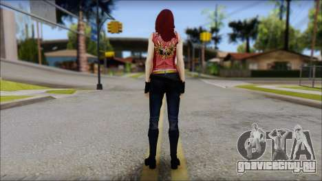 Claire Aflterlife Skin для GTA San Andreas второй скриншот