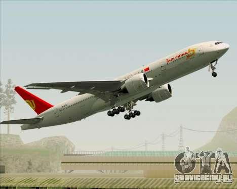 Boeing 777-200ER Air China для GTA San Andreas вид сбоку
