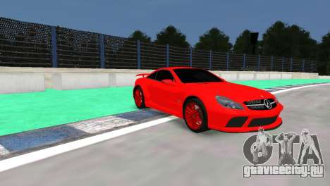 Mercedes Benz SL65 AMG Black Series для GTA 4 вид слева