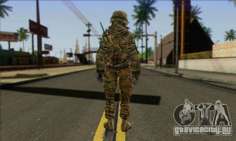 Task Force 141 (CoD: MW 2) Skin 11 для GTA San Andreas второй скриншот