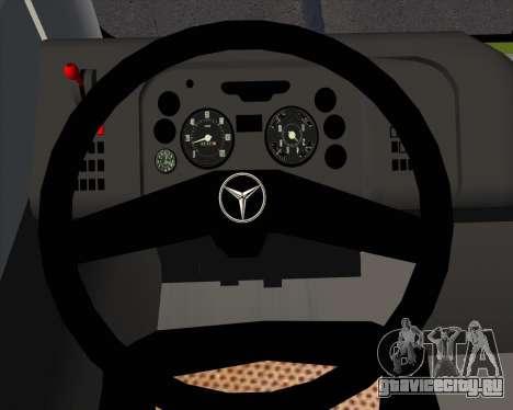 Caio Induscar Mondego H Mercedes-Benz O-500U для GTA San Andreas салон