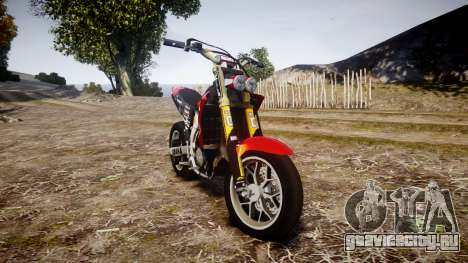 Yamaha YZF-450 SuperMoto Custom для GTA 4
