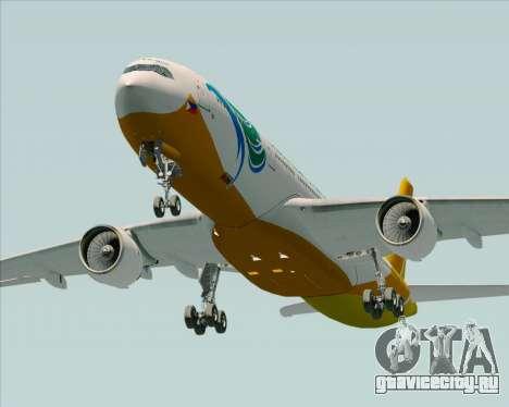 Airbus A330-300 Cebu Pacific Air для GTA San Andreas вид сбоку