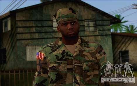 California National Guard Skin 3 для GTA San Andreas третий скриншот