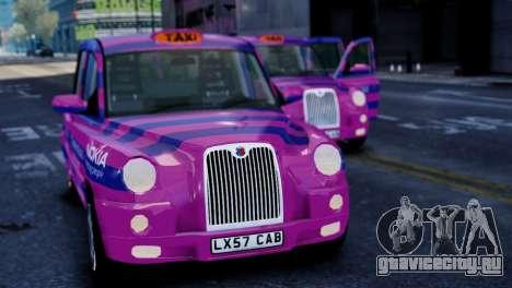 London Taxi Cab v1 для GTA 4