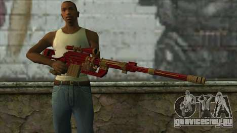 Sniper Rifle from PointBlank v1 для GTA San Andreas третий скриншот