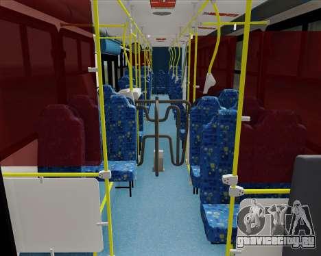 Caio Induscar Apache S21 Volksbus 17-210 Manaus для GTA San Andreas вид сзади