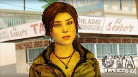 Tomb Raider Skin 6 2013 для GTA San Andreas третий скриншот